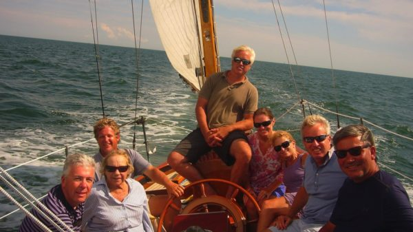 Victura, The Kennedys, a Sailboat, and the Sea