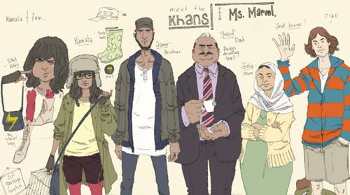 Meet the New Ms. Marvel — A Female, Muslim, Pakistani Superhero