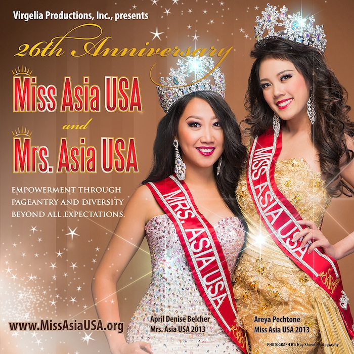 Miss Asia USA 26th Annual Cultural Pageant
