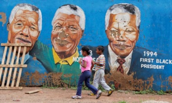 Nelson Mandela's 25th Anniversary Release From Prison Event