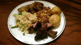 Home cooked food is the best food!