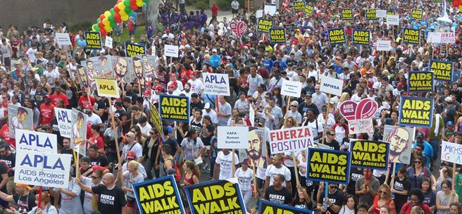 AIDSWALK LA