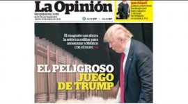 La Opinion Warns 'Against Trump'