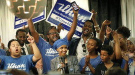 Ilhan Omar Poised to Become Nation's First Somali American Legislator