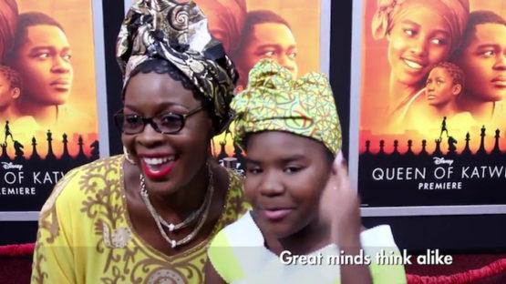 Disney Kid Star Trinitee Stokes On Frank Talk: Queen Of Katwe Movie Premiere Red Carpet