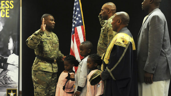 California Based African-Born Soldier Frank Musisi, From Captain To Major In The United States Army