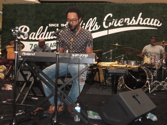 Baldwin Hills Crenshaw Plaza Celebrates Milestone With Grammy Nominated Musician Terrace Martin