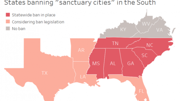 Feds, states target Southern 'Sanctuary Cities,' Leaving Local Officials in a Bind