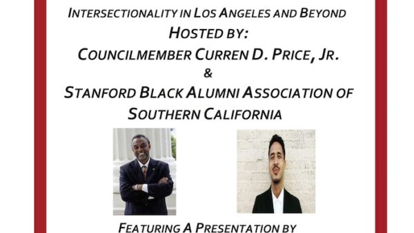 LOS ANGELES CITY COUNCILMAN CURREN PRICE TO HOST CONVERSATION ABOUT RACE AND POLITICS BETWEEN THE AFRICAN AMERICAN AND LATINO COMMUNITY