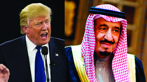 Trump to the 'Rescue' in Saudi Arabia and Israel
