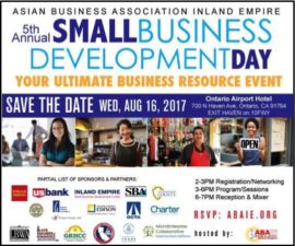 "FIFTH ANNUAL SMALL BUSINESS DEVELOPMENT DAY,""A Speed Dating Event for the Ages"""
