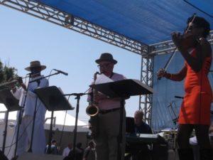 Howard Hewett Rocks St. Andrews Jazz Festival