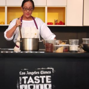 Los Angeles Times The Taste Shine Spotlight on Local Culinary Scene