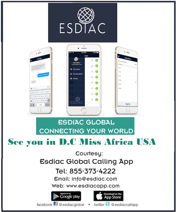 ESDIAC Global App Celebrates African Women At Miss Africa USA Annual Pageant