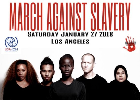 """the """"March Against Slavery in Libya and Beyond"""""""