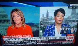 City Of Atlanta Mayor Keisha Lance Bottoms signs executive order blocking jail from accepting ICE detainees