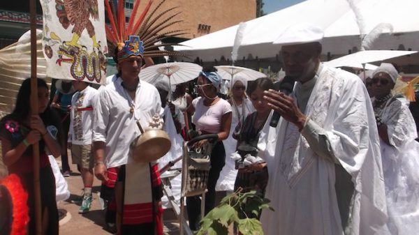 Honoring Ancestors During Festival of Masks