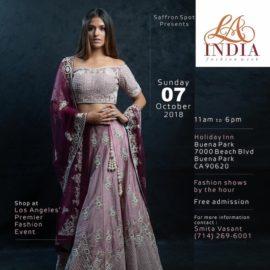 Los Angeles Premiere, 'LA India Fashion Week' 2018