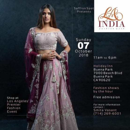 Los Angeles Premiere, 'LA India Fashion Week' 2018