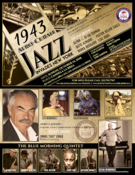 """INTERNATIONAL SOCIETY OF BLACK LATINOS (ISBL) PRESENTS ITS GALA, """"Afro- Latinos Journey through the Americas and Caribbean."""""""