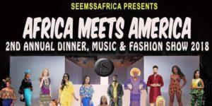 Africa Meets America, A Seemssafrica Fashion Show