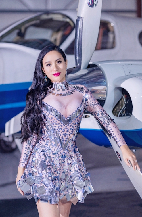 "International Music Sensation Jennifer Zhang Releases New Single ""Flying High"" Promoting East-West Relations"