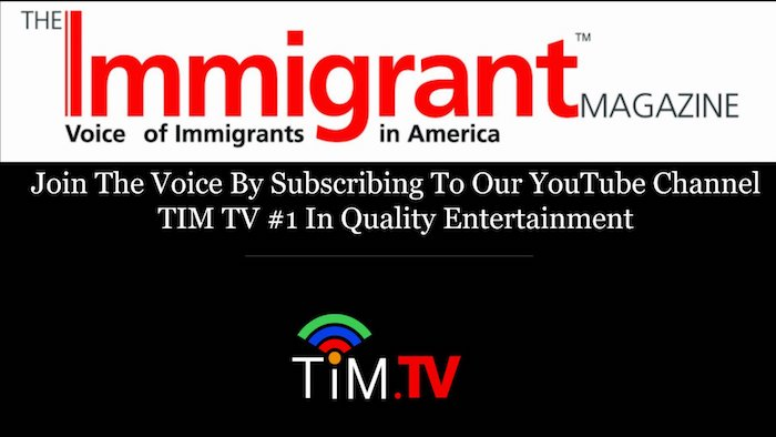 Subscribe To TIM TV & Be Notified Of New Quality Immigrant Content