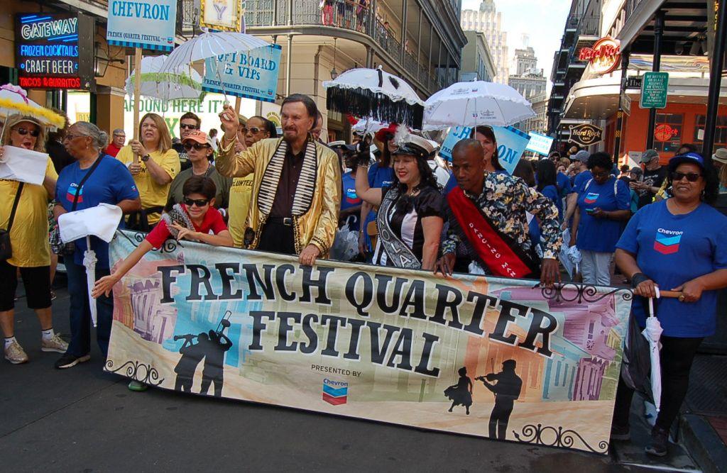2019 French Quarter Festival in New Orleans