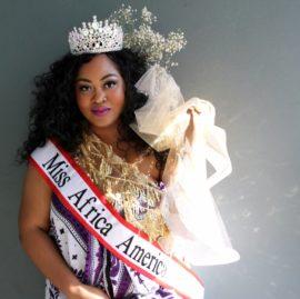 CHARLOTTE MAKALA REIGNS AS MISS AFRICA AMERICA