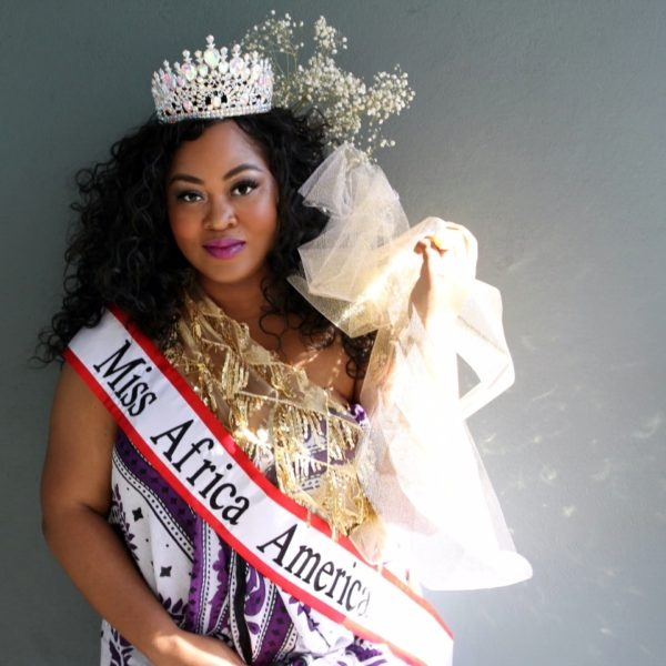 CHARLOTTE MAKALA REIGNS AS MISS AFRICA AMERICA