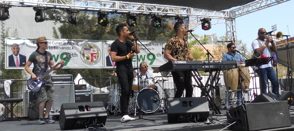 4th of July Community Festival and Fireworks Show in Exposition Park