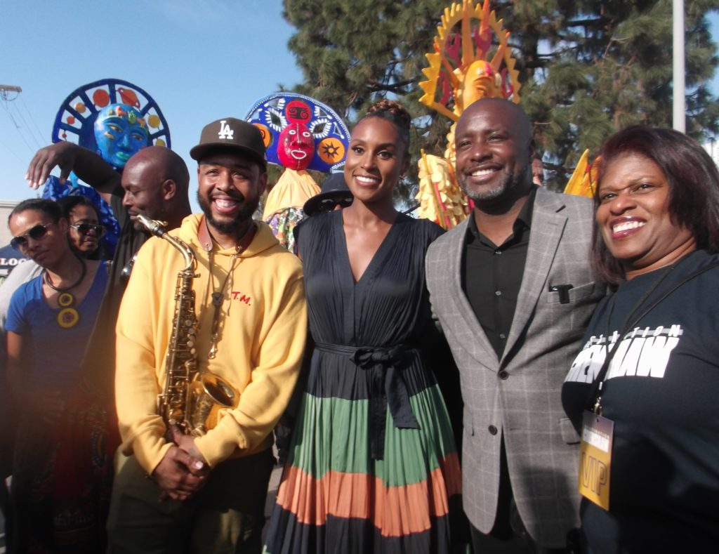 Destination Crenshaw Ground Breaking Project