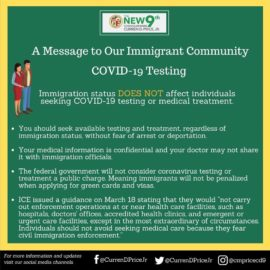 COVID-19 Resource Guide For Immigrants