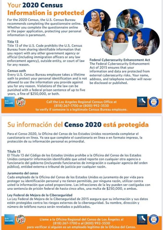 Census 2020: Make CD 9 Count / Censo del 2020: Asegúrese que el Distrito 9 Cuente