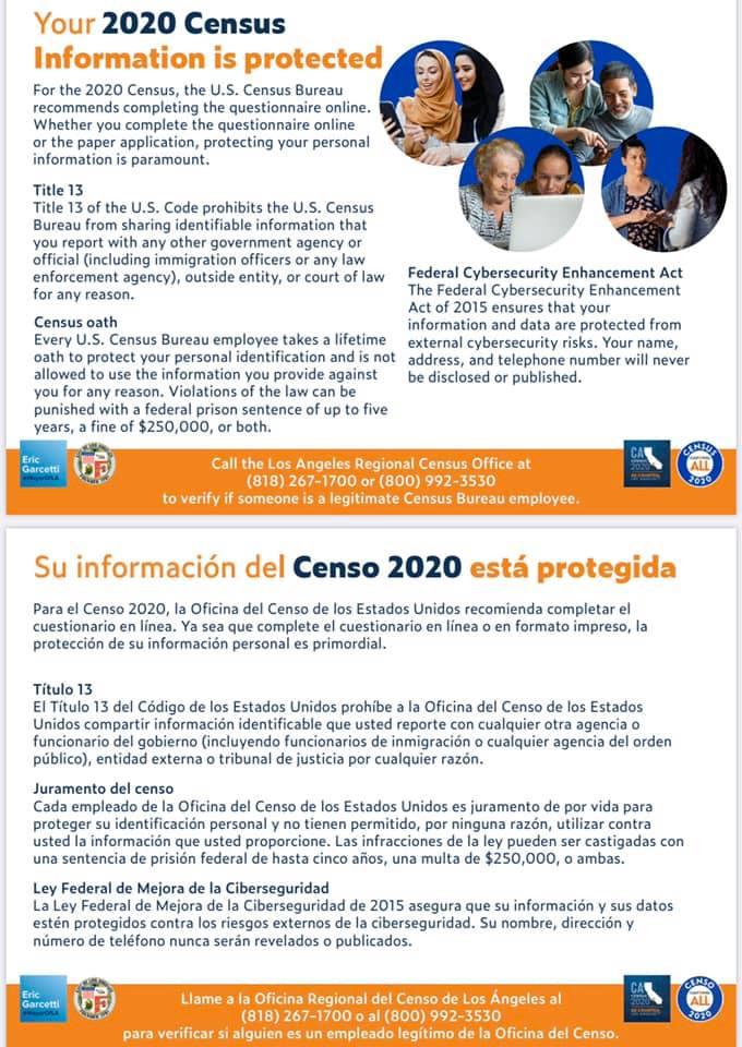 Census 2020: Make CD 9 Count / Censo del 2020: Asegúrese que el Distrito 9 Cuente