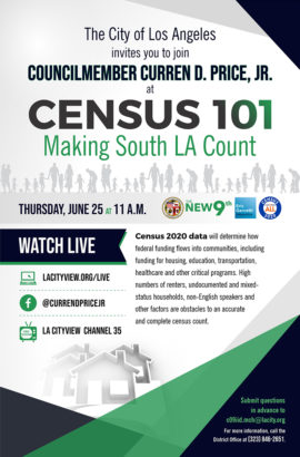 New 9th Census 101: Save the Date