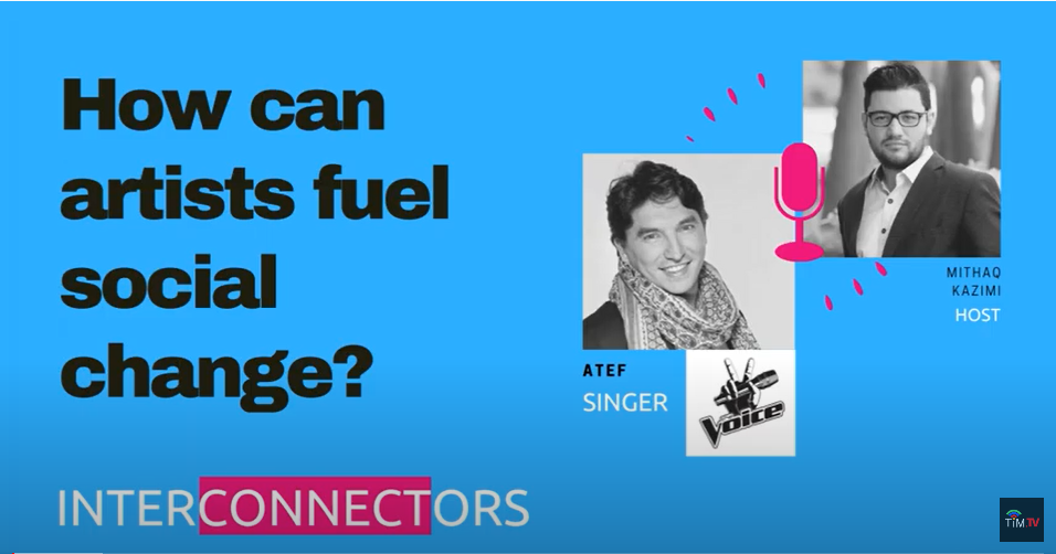 Interconnectors: How can artists fuel social change? | Atef, The Voice semi-finalist