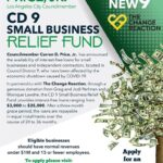 Curren D. Price Jr. Announces CD 9 Small Business Relief Fund