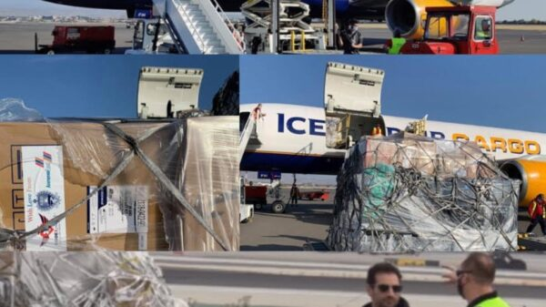 Glendale-based USATV Productions' Sargsyan Brothers and Friends Send 20 Tons of Humanitarian Aid to Citizens and Victims of Armenia and Artsakh