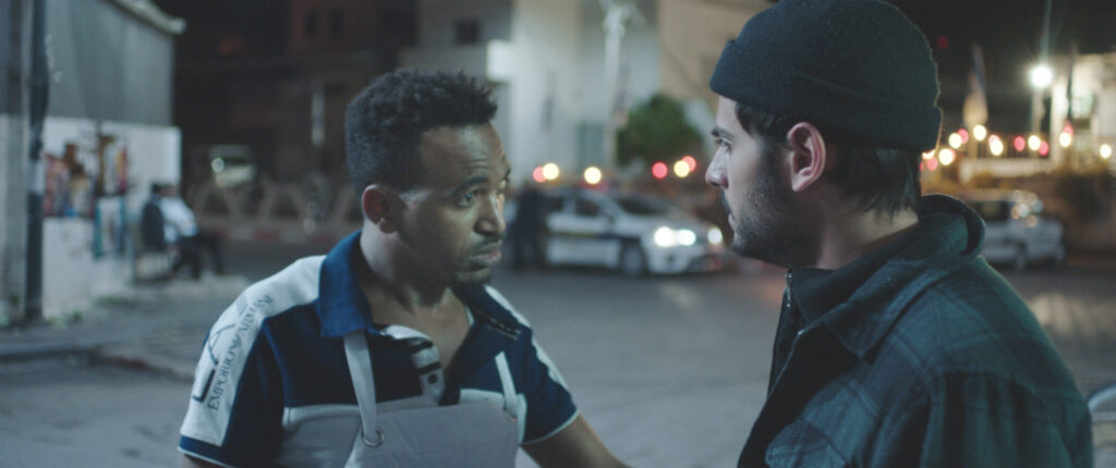 Oscar-Nominated White Eye | What Happens When Cops Are Called On Blacks In Israel ? Tomer Shushan